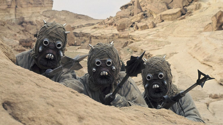 "Image result for image, photo, picture, star wars, a new hope,  •	""The Land of the Sand People"""