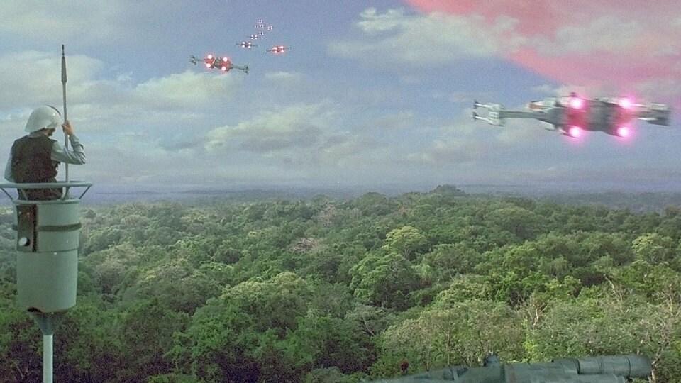 Resultado de imagem para star wars episode 4 yavin