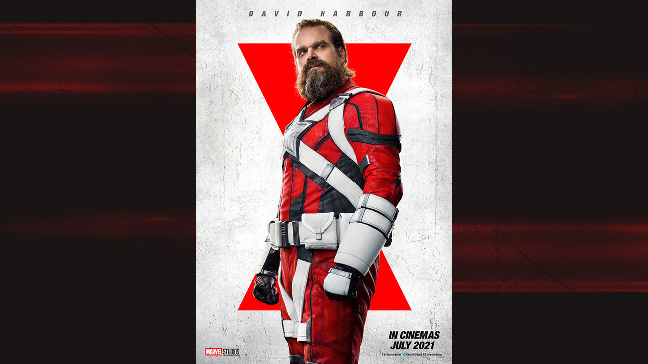 David Harbour as Alexei aka The Red Guardian from the movie Black Widow