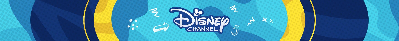 Disney Channel Logo auf blauem Hintergrund