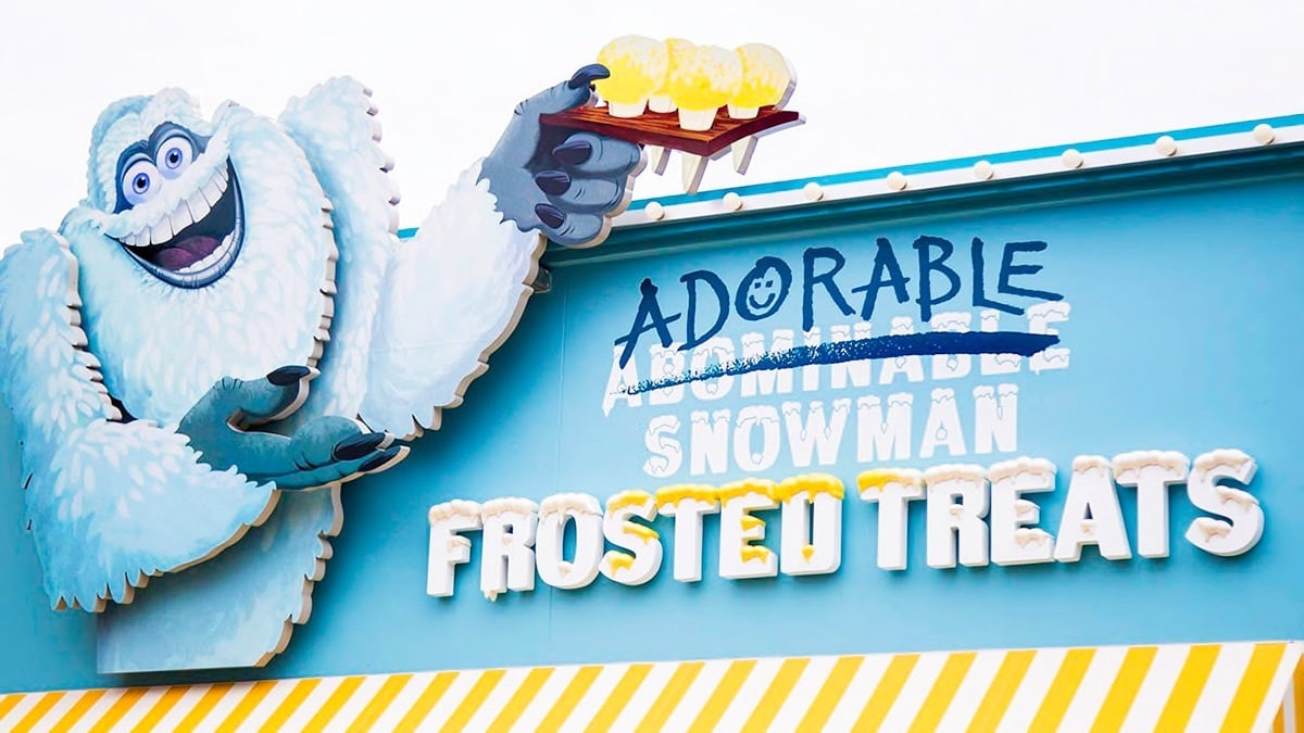 Snowman Marquee