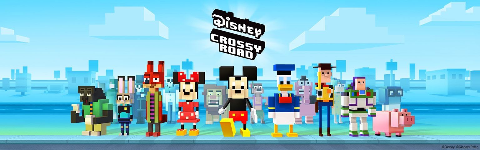 Image result for Disney Crossy Road