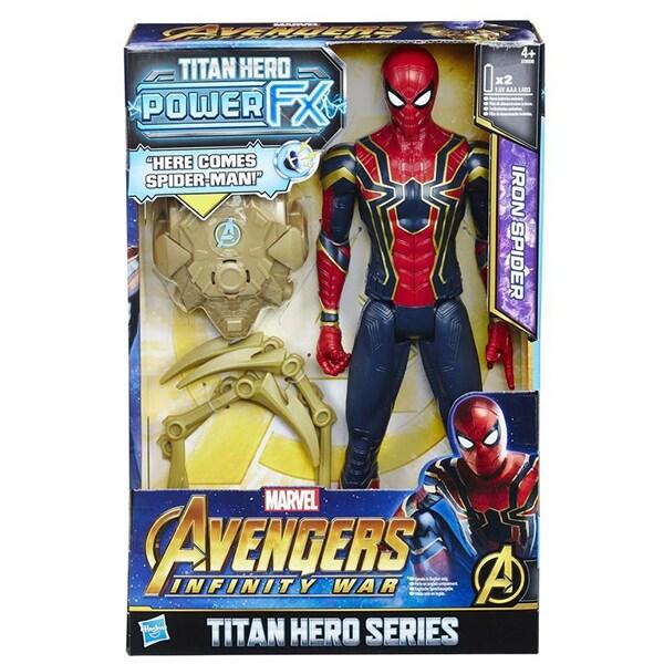 MARVEL AVENGERS 12 INCH - INFINITY WAR TITAN HERO POWER FX IRON SPIDER - Product | Lazada | Marvel | Toys