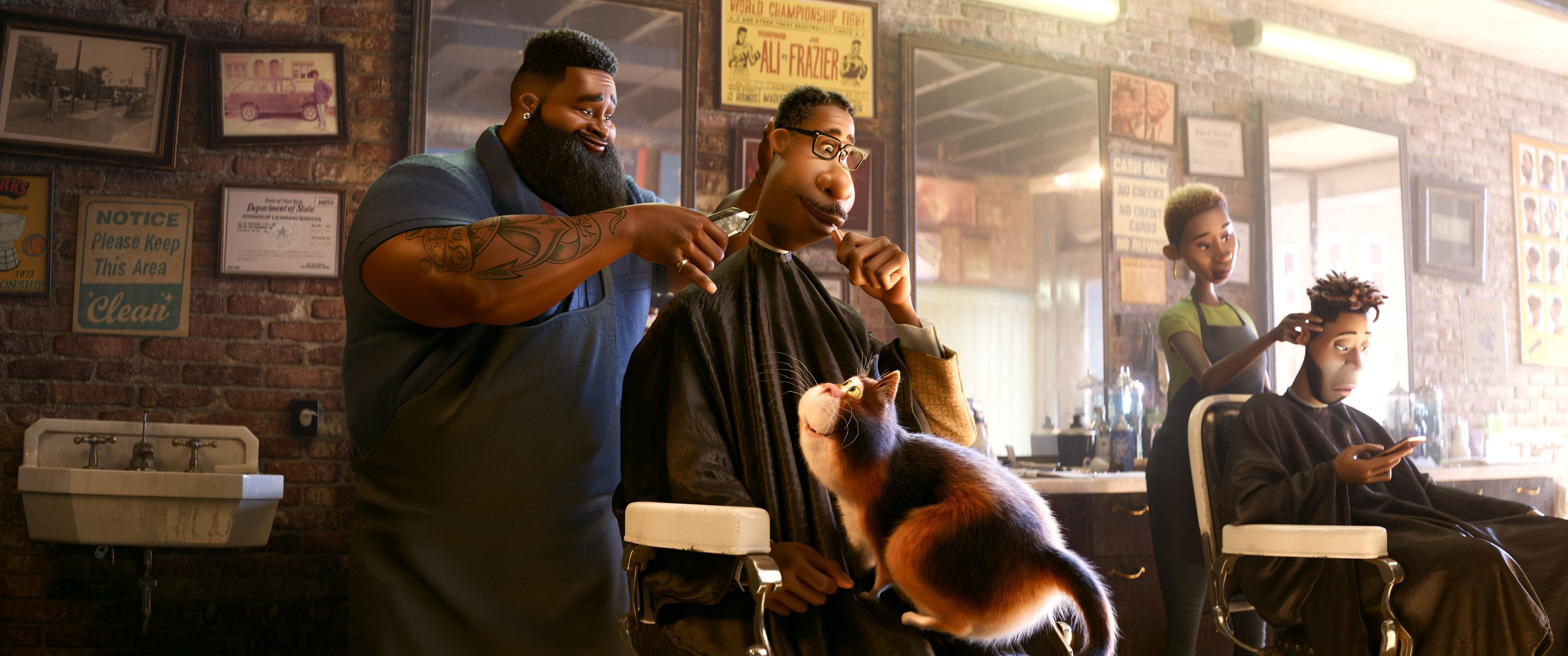 Dez the barber from Soul