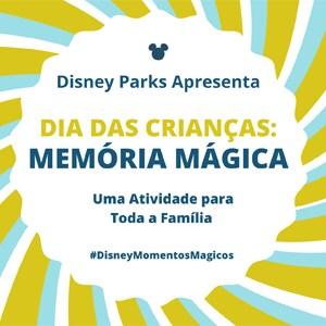 Dia das Crianças: Divirta-se com o jogo de Disney Parques feito para toda a família