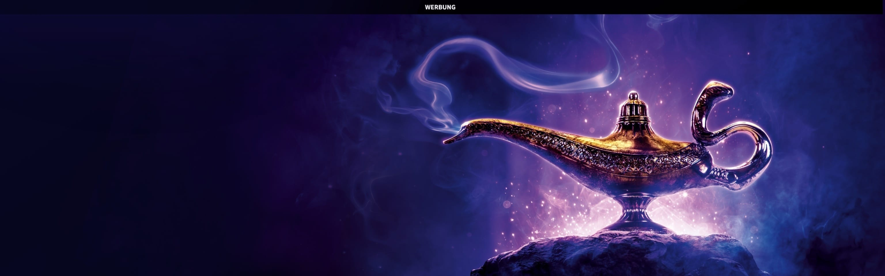 Aladdin Gewinnspiel (Hero)