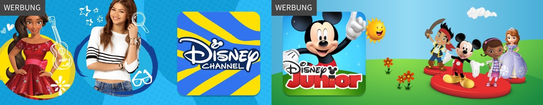 WERBUNG - Disney Channel App & Disney Junior App