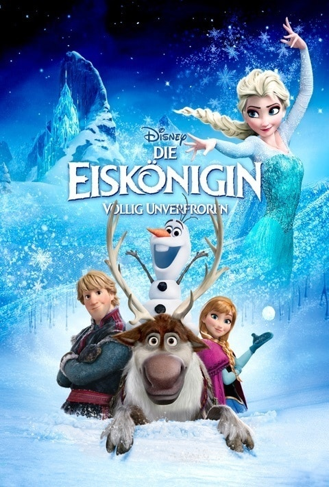 Disney Plus - Frozen - Poster