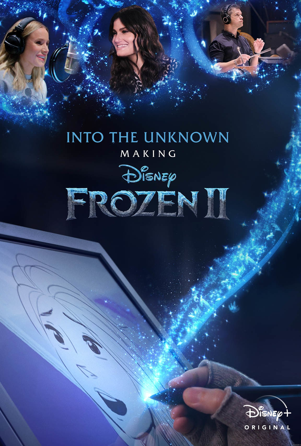 Disney Plus - Into the Unknown Making Frozen 2 - Poster