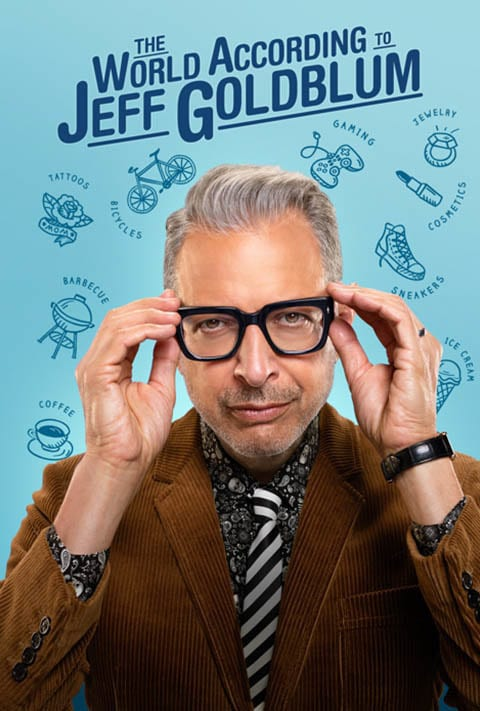 Disney Plus - The World According to Jeff Goldblum - Poster