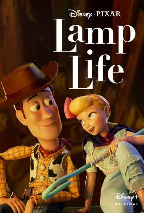 Disney Plus - Lamp Life - Poster