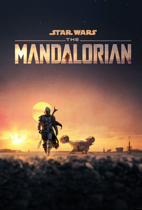 Disney Plus - The Mandalorian - Poster