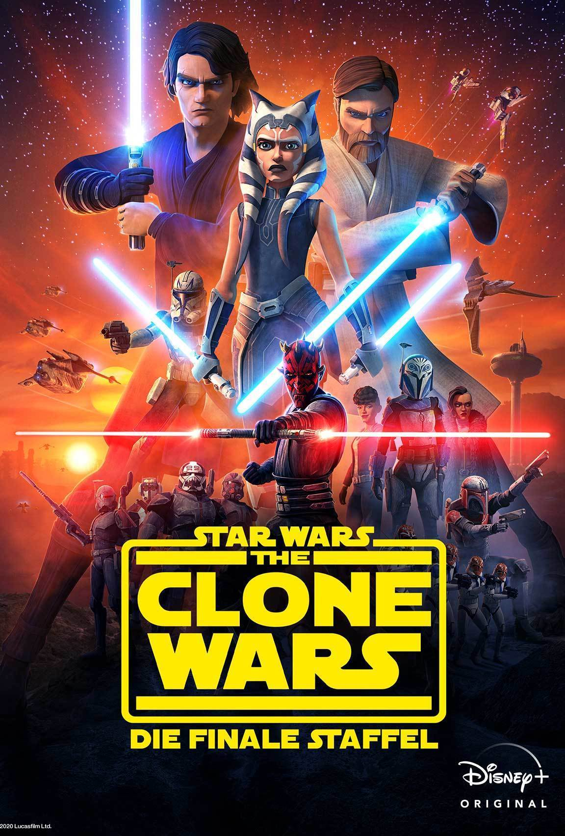 Disney Plus - Star Wars: The Clone Wars: The Final Season - Poster