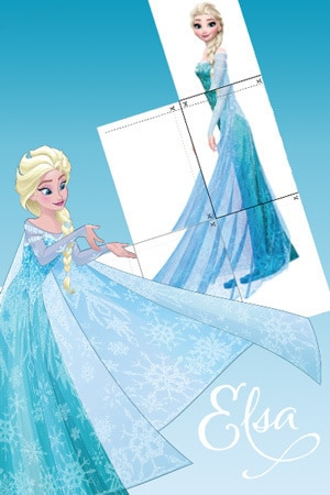 Elsa - Starschnitt