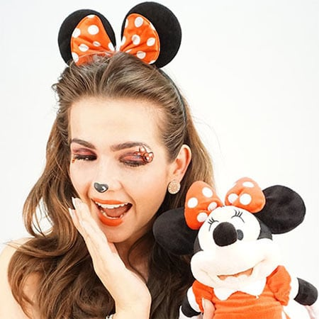 Tutorial: Minnie Maus Make Up