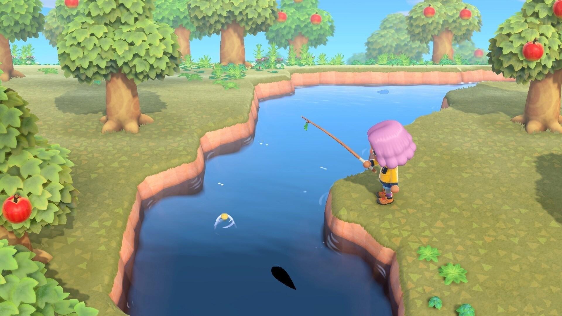 Spielszene aus Nintendo Animal Crossing: New Horizons