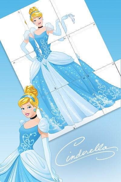 Cinderella - Riesenposter