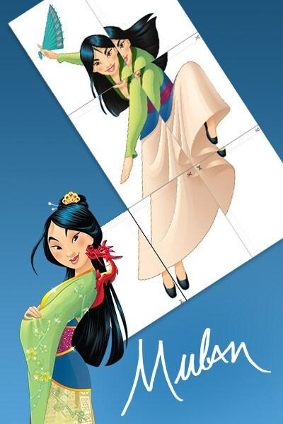 Mulan - Riesenposter