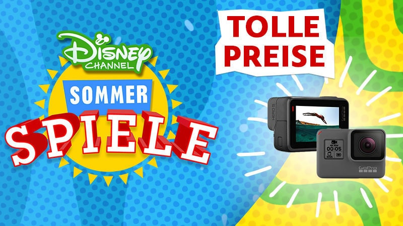 Disney Channel Sommer Spiele