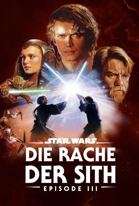 Disney Plus - Star Wars - Episode 3 - Revenge of the Sith - Poster