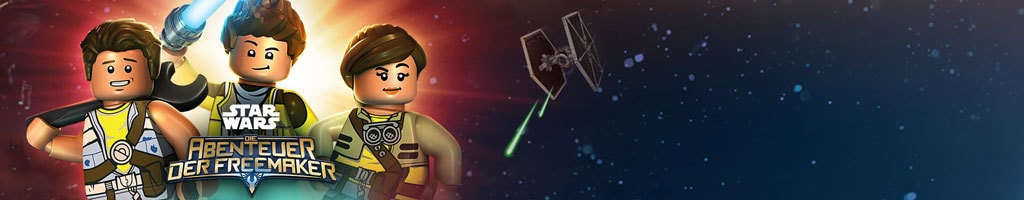 Lego Star Wars: Adventures of the Freemakers GWS Hero Short