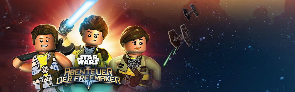 Lego Star Wars: Adventures of the Freemakers GWS