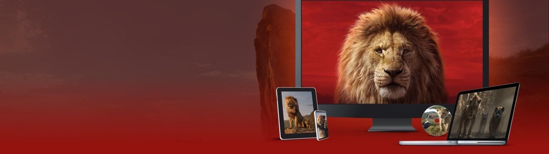 Der König der Löwen   Auf DVD, Blu-ray und als digitaler Download erhältlich