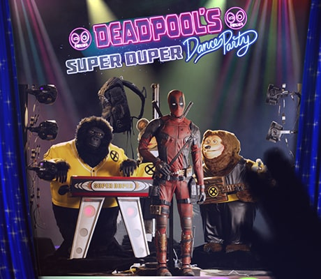 deadpool's super duper dance party