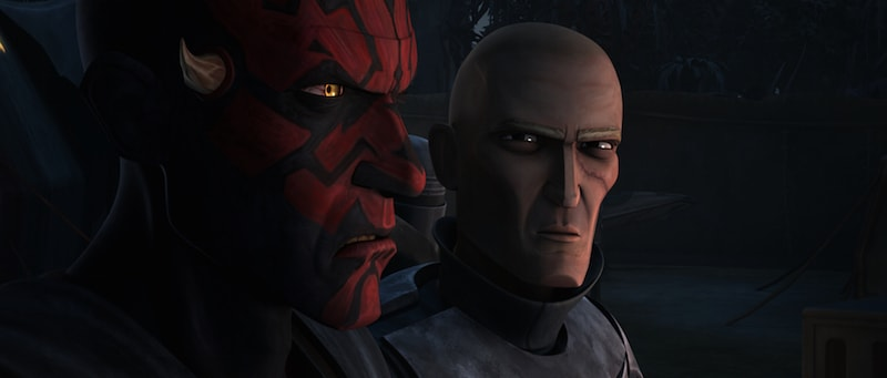 Darth Maul and Pre Vizsla joining forces