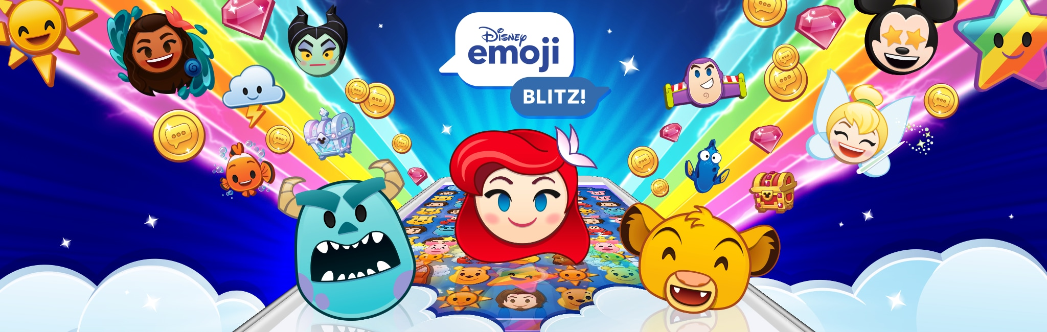 Emoji Blitz Disney Lol Games