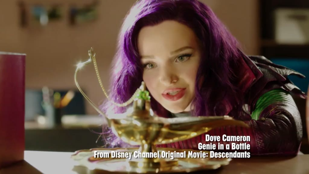 Descendants: Wicked World | Dove Cameron – Genie in a Bottle Music Video