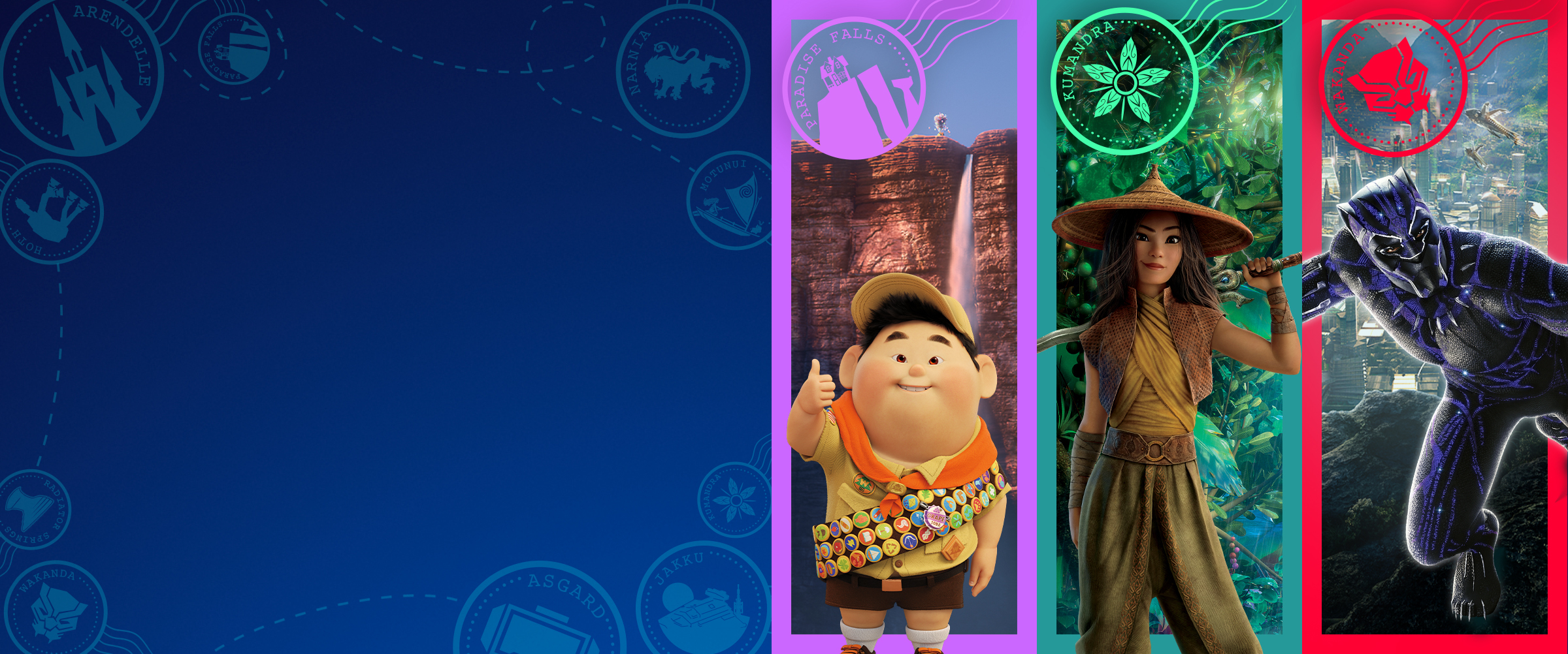Hero | Disney+ | Destinations | School Holiday Activity Page
