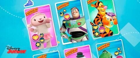 Brinquedos de coleção - 5 cartões
