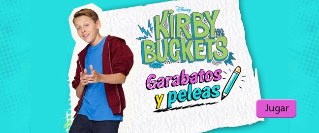¿Ya conoces a Kirby Buckets?