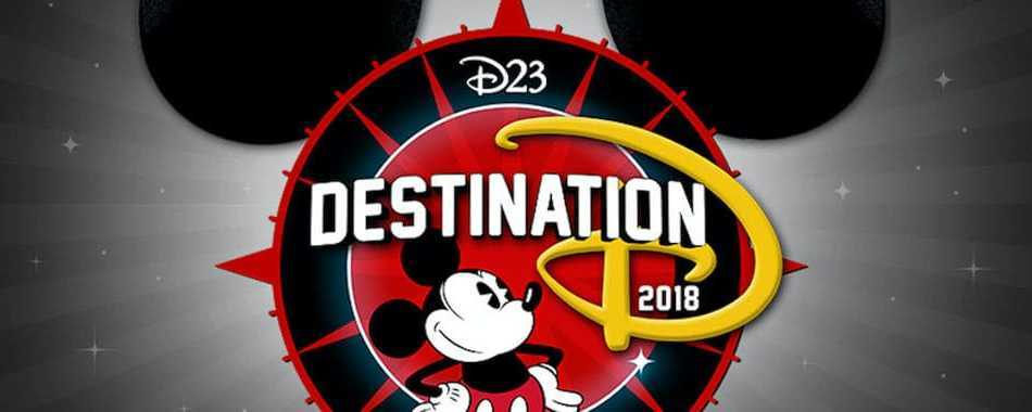 Destination D 2018 D23, with Mickey logo