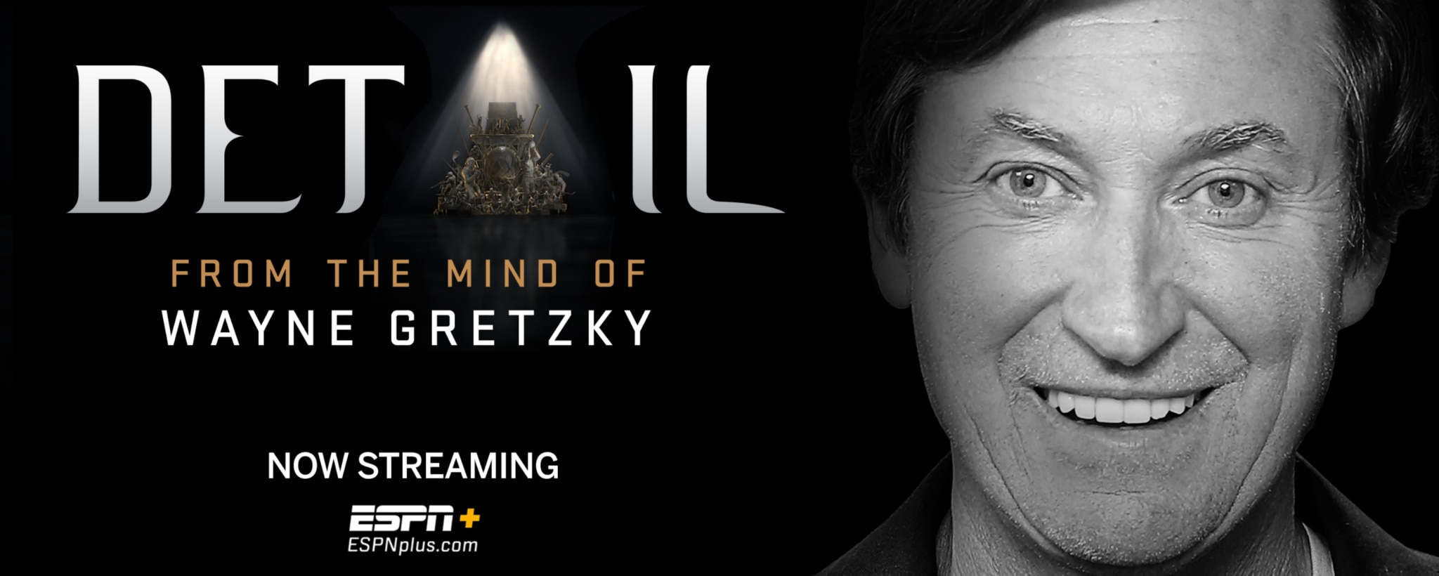 """""""The Great One"""" Wayne Gretzky Joins Detail Exclusively on ESPN+"""