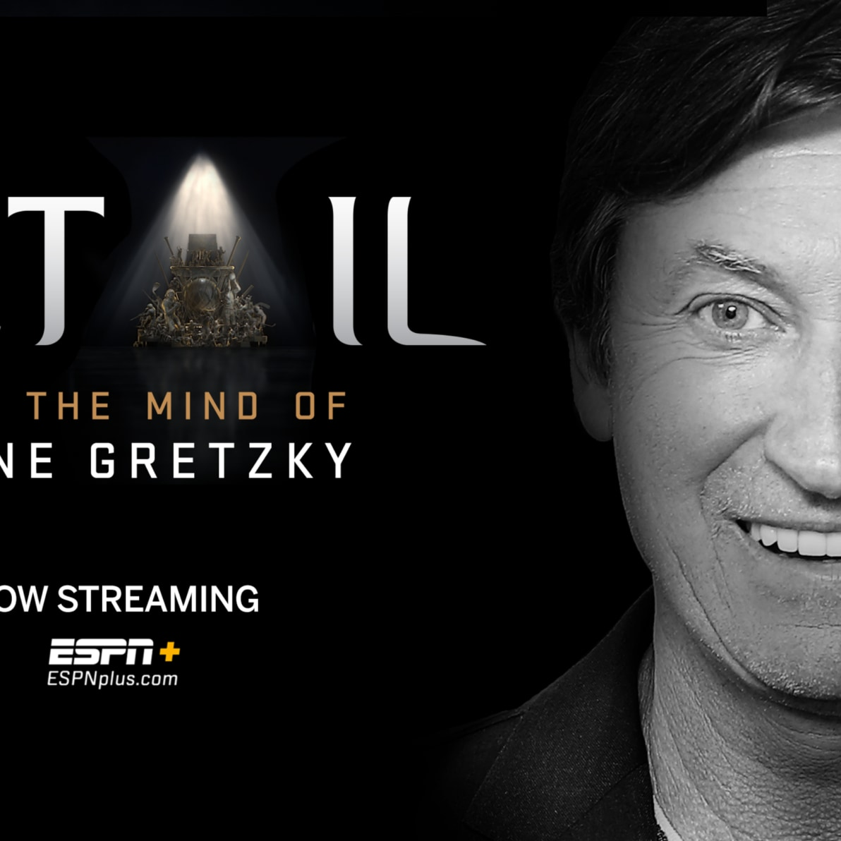 """The Great One"" Wayne Gretzky Joins Detail Exclusively on ESPN+"
