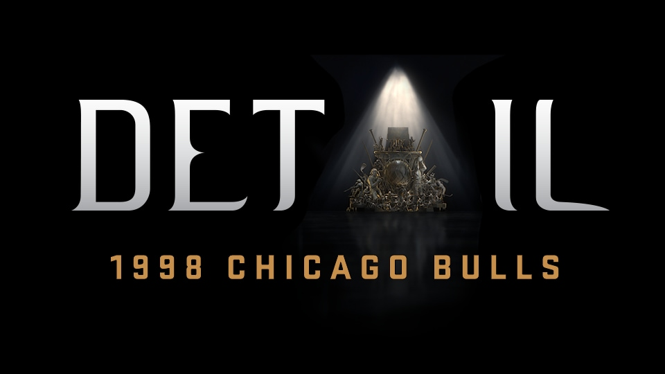 Detail: 1998 Chicago Bulls Premiering Sunday Exclusively on ESPN+