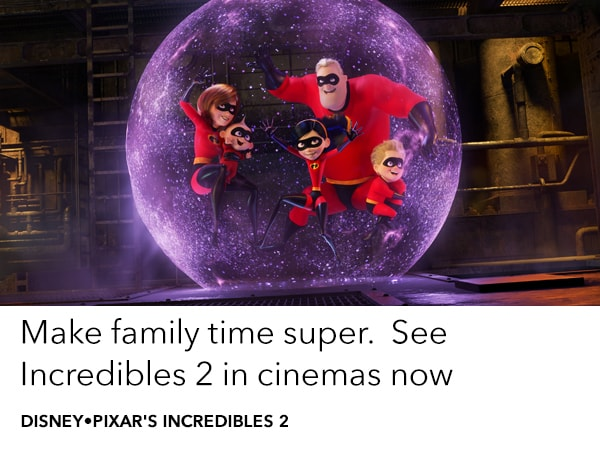 Take your team to see Incredibles 2 at the movie
