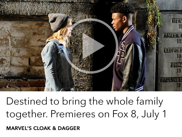 Watch Marvel's Cloak & Dagger. A show destined to bring the whole family together