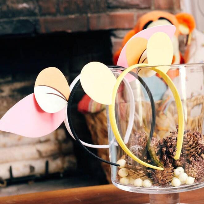 Craft: Winnie The Pooh Headbands