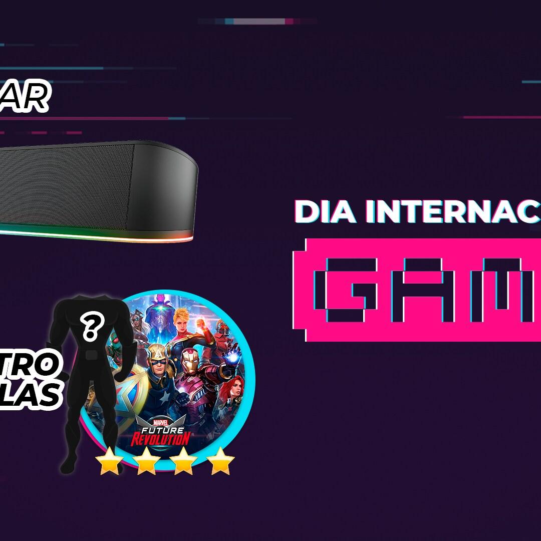 DIA INTERNACIONAL DO GAMER NA RÁDIO DISNEY