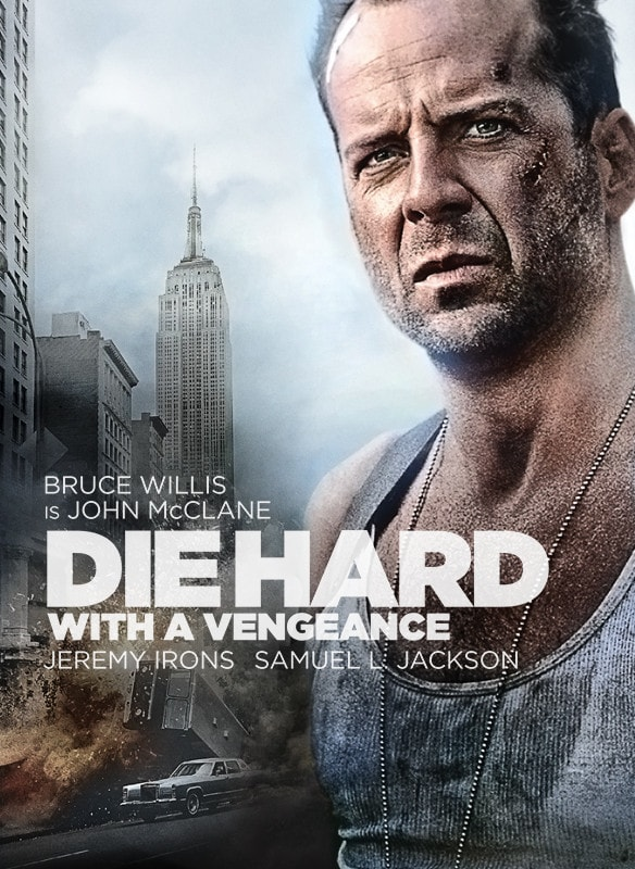 Die Hard: With a Vengeance movie poster