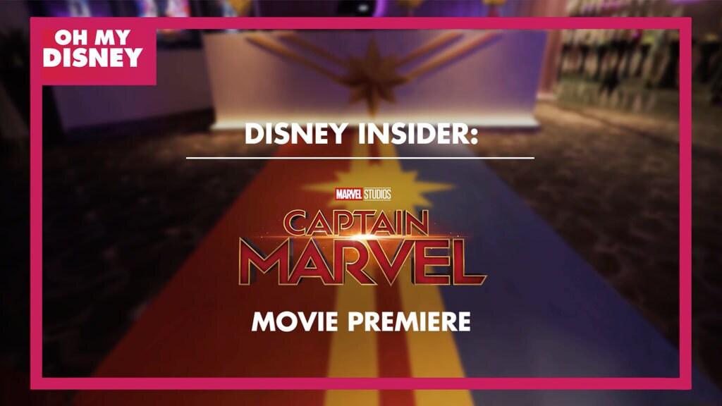 Disney Insider: Marvel Studios' Captain Marvel Premiere in Kuala Lumpur