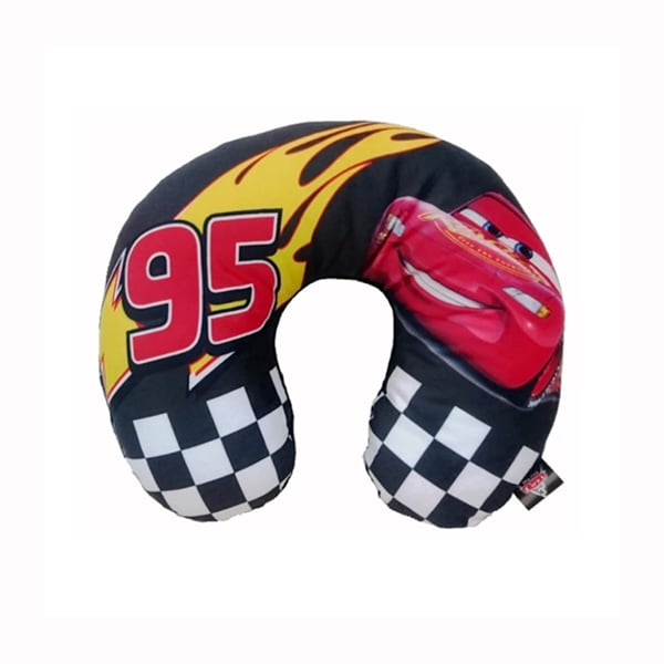 Disney Cars 3 Neck Cushion - Black Mcqueen
