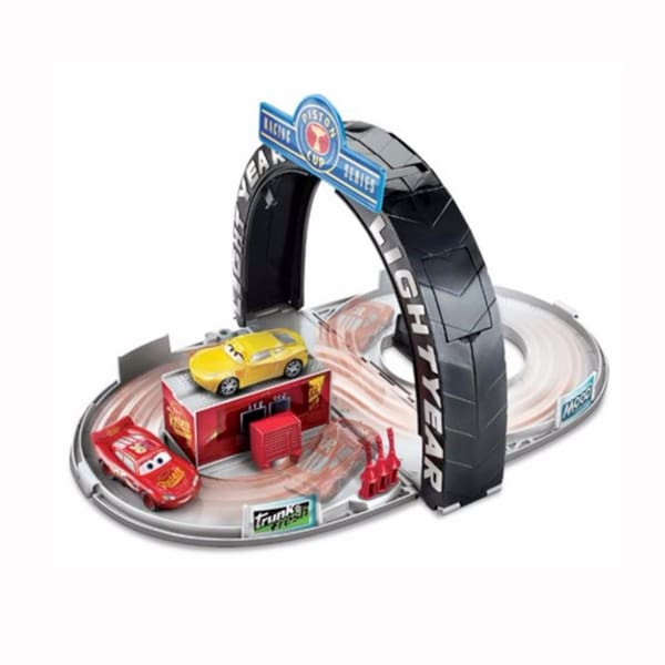 Disney Cars 3 Piston Cup Portable Playset