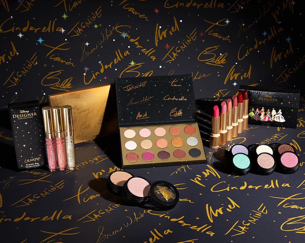 Make up set from the Disney Designer ColourPop Collection