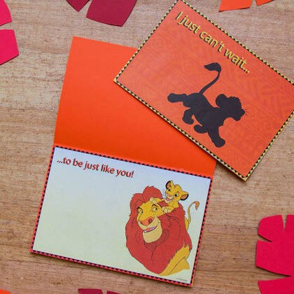 The Lion King Father's Day Card
