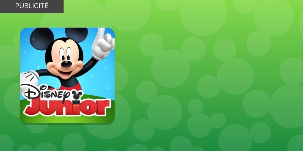 PUBLICITÉ - Disney Junior Play App