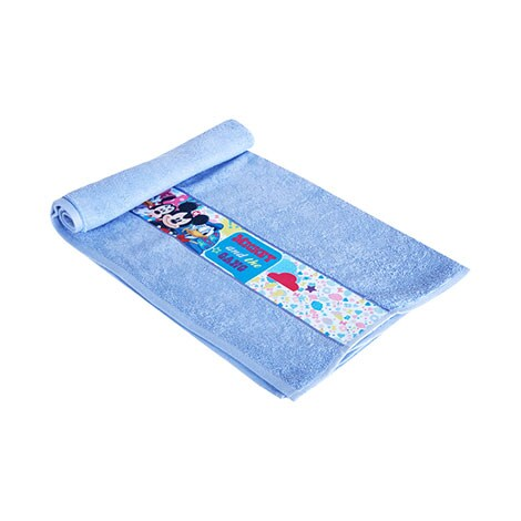 Disney Mickey and Friends Bath Towel Blue